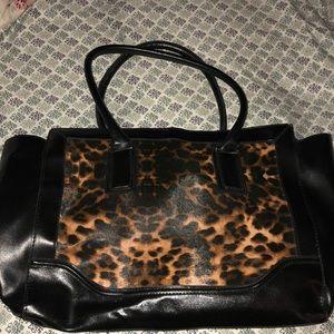 Merona animal print bag